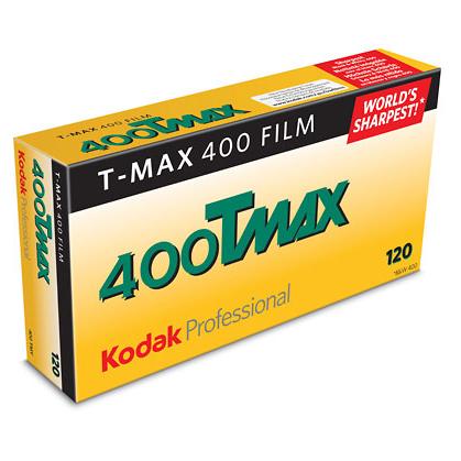 Kodak T-Max 400 тип-120 1